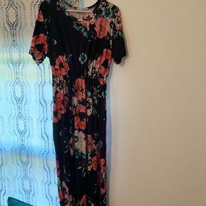 Women's plus size 3x long maxi dress